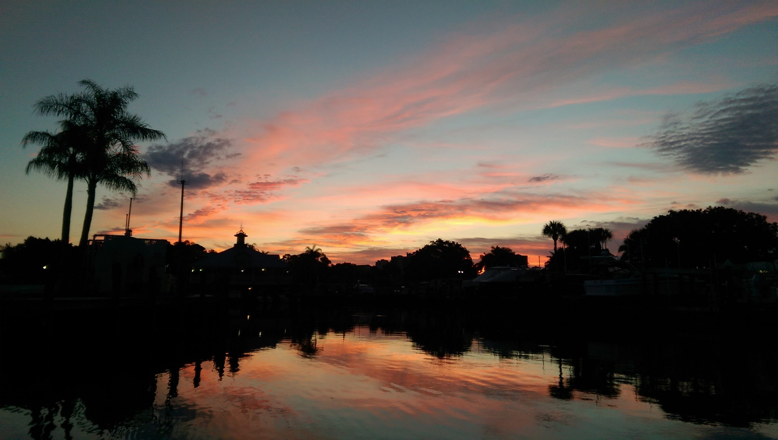 Amazing Sunset on the Cocohatchee River